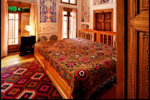 L'hôtel Emir à Boukhara.