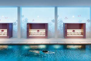 Le spa du Mandarin Oriental, véritablebulle de bien-être.