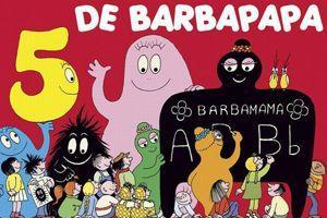 La cinquième aventure de Barbapapa.
