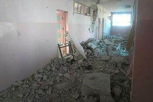 Un hôpital bombardé à l'est de Damas. (Crédit photo: MSF)