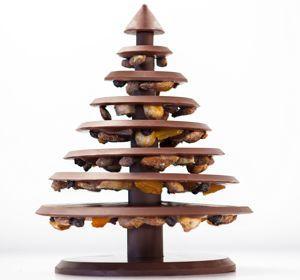 L'arbre de Noël de la Manufacture Alain Ducasse (Crédit: Pierre Monetta).