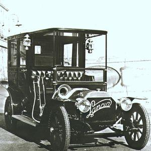 Lancia Alpha du début du XXe siècle.