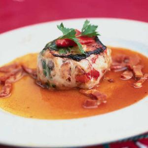 Gaspacho de crabe au piment d espelette une recette - Cuisiner des crepinettes ...
