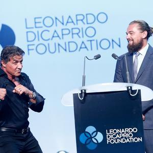 Sylvester Stallone et Leonardo DiCaprio