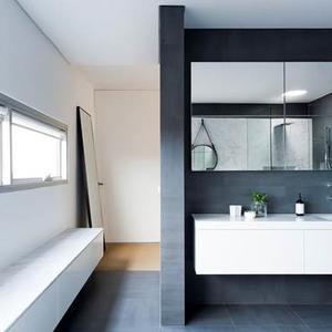 luxe et bien tre dans une salle de bain parentale madame. Black Bedroom Furniture Sets. Home Design Ideas