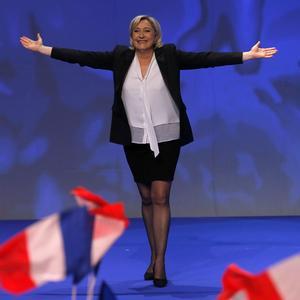 Le look anti-système de Marine Le Pen