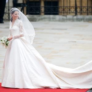 Photo Abaca Les secrets de la robe de mariée de Kate Middleton