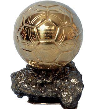 Le Ballon d'Or de George Weah, 1995.