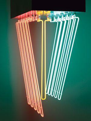 Hanging Neon, Stephen Antonakos.