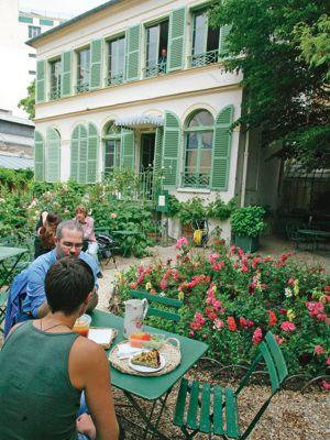 Paris en vert - Jardin du musee de la vie romantique ...