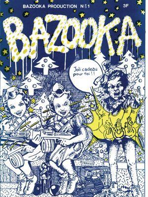 Visuel du fanzine Bazooka, publication française du collectif du même nom.