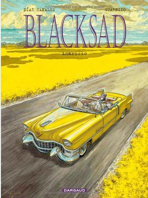 Blacksad, T 5, de Diaz Canales <br/>et Guardino, Dargaud.
