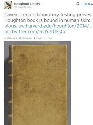 La Houston Library a partagé sa découverte sur Twitter.