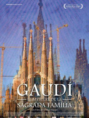 Jaquette DVD du documentaire <i>Gaudi, le mystère de la Sagrada Familia</i> de Stefan Haupt.
