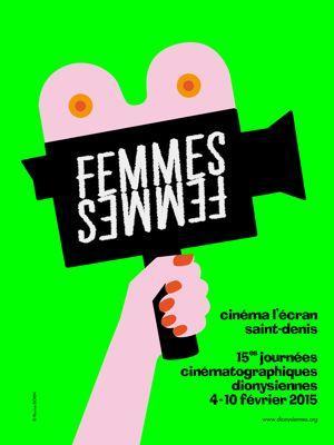Affiche des 15es Journées cinématographiques dionysiennes