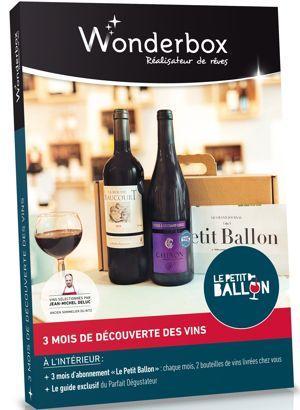 Le coffre «Le Petit Ballon by Wonderbox» est commercialisé depuis le 6 octobre, au prix de 79,90 euros.