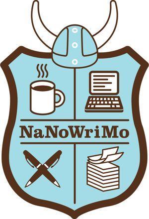 Le logo du NaNoWriMo.