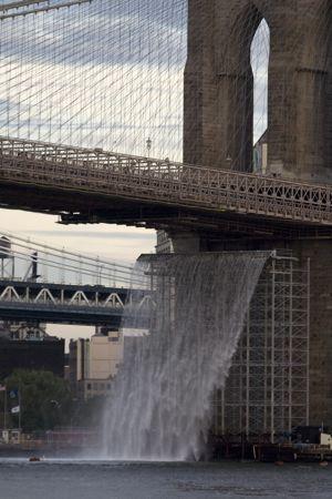 <i>The New York City Waterfalls.</i>