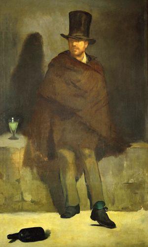 Le Buveur d'absinthe d'Edouard Manet (1858-1859)