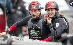 Kate Middleton s'offre une virée en catamaran