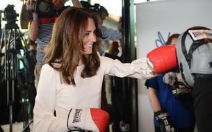 Kate Middleton se met à la boxe