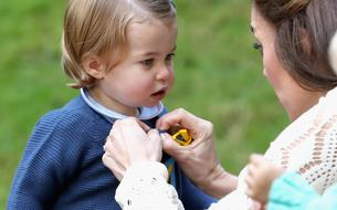 La princesse Charlotte dit son premier mot en public au Canada