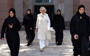 Camilla Parker-Bowles et ses bodyguards exclusivement féminins à Abu Dhabi
