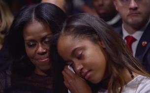 Barack Obama : la vidéo de son hommage à Michelle et Malia