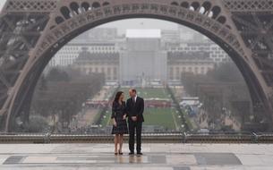 Les photos du voyage de Kate et William à Paris
