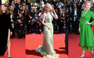 Laetitia Casta, Elle Fanning, Jessica Chastain... Les plus belles tenues du tapis rouge
