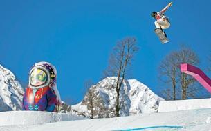 Rosa Khoutor, la station de ski alpin des JO