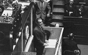 En 1969, le discours de politique générale de Jacques Chaban-Delmas