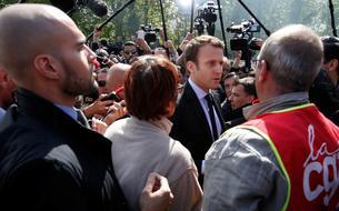 En direct - Macron à Arras : «Le protectionnisme, c'est la guerre»