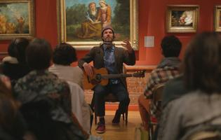 Piers Faccini en concert au Musée Eugène-Delacroix (VIe).