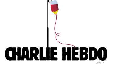 Les 20 dessins les plus émouvants en mémoire de Charlie Hebdo