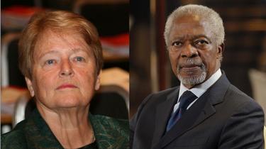 Kofi Annan: il faut limiter le droit de veto des cinq membres permanentsde l'ONU