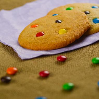 Cookies gourmands aux Smarties