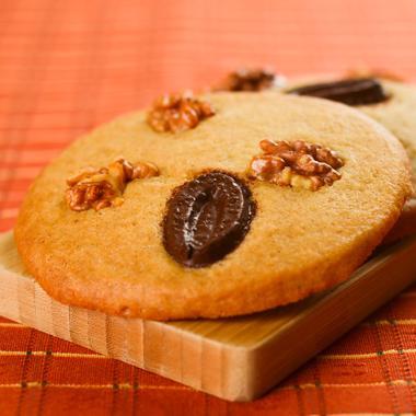 Cookies gourmands au chocolat noir et noix
