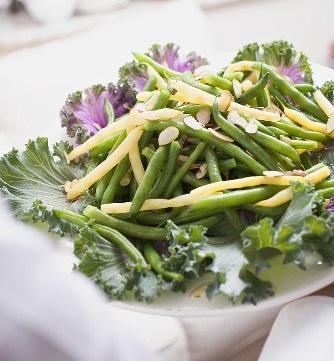 Duo de haricots en salade
