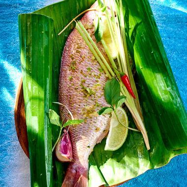 Dorade à la tahitienne