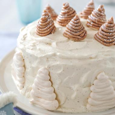 Gâteau façon Mont-Blanc