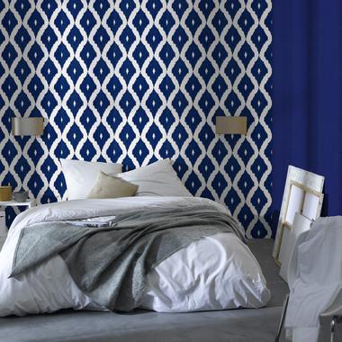 Vintage Graphique Elegant Le Joli Papier Peint Fait Le Mur