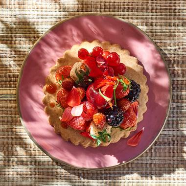 Tartelettes sablées aux fruits rouges