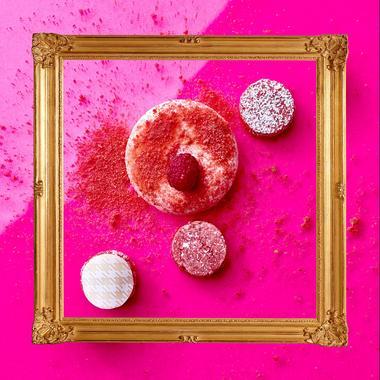 Mousse de champagne rosé