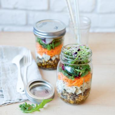Happy bocal ou salade à emporter