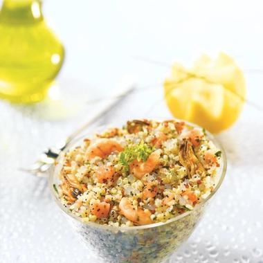 Salade gourmande au quinoa et aux perles Japon