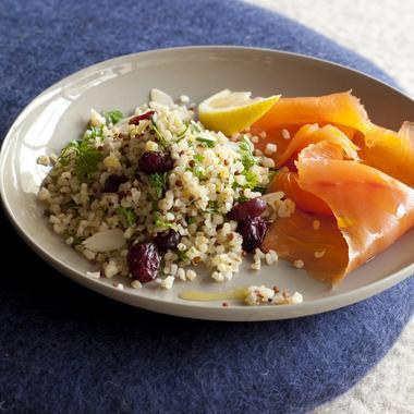 Taboulé de quinoa et boulgour