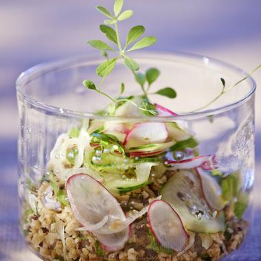 La salade multigraine façon taboulé