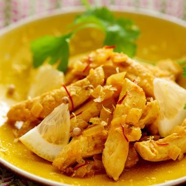 Poulet au citron confit
