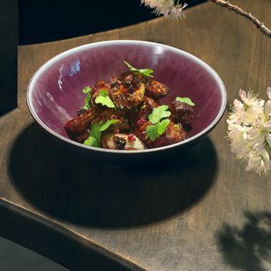 Aubergines façon wok asiatique
